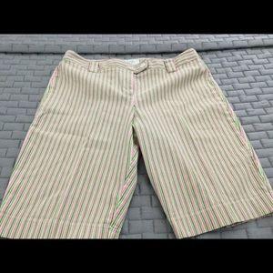 Striped Walking Shorts